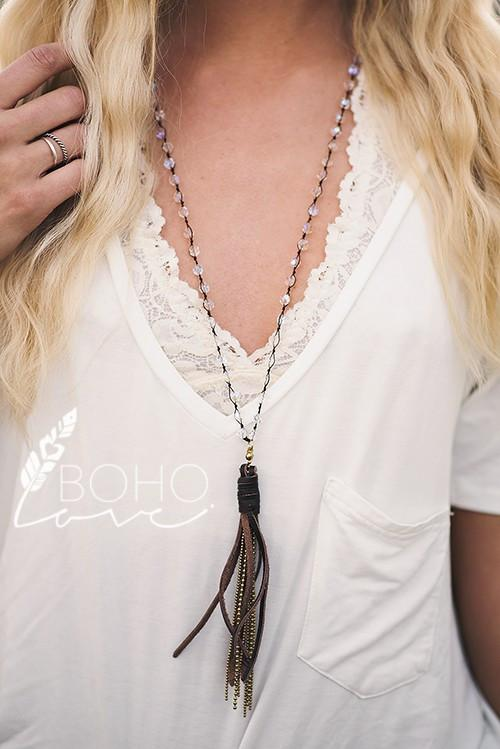 Bella Tassel Necklace