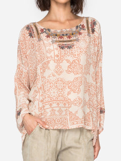 Larissa Silk Blouse