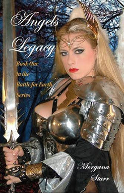 Angels Legacy Signed by Morgana Starr