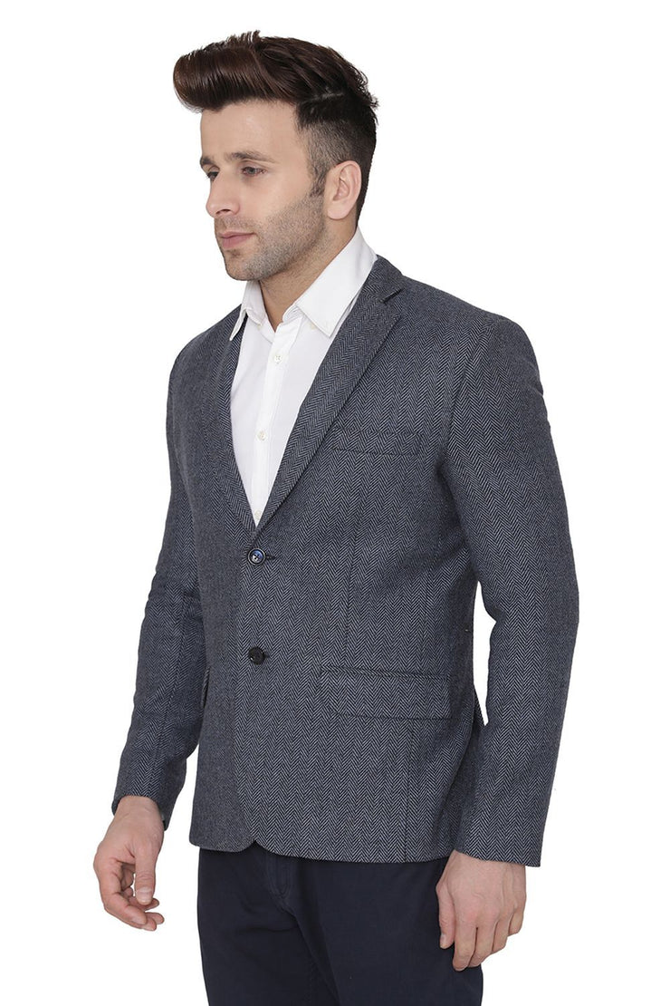 Tweed Blue Blazer
