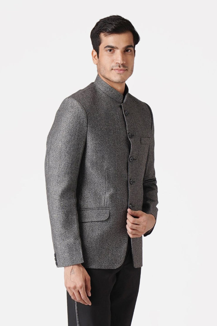 Tweed Grey Blazer