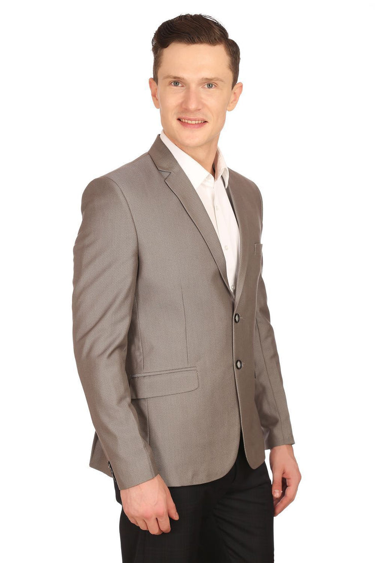 Poly Viscose Grey Blazer