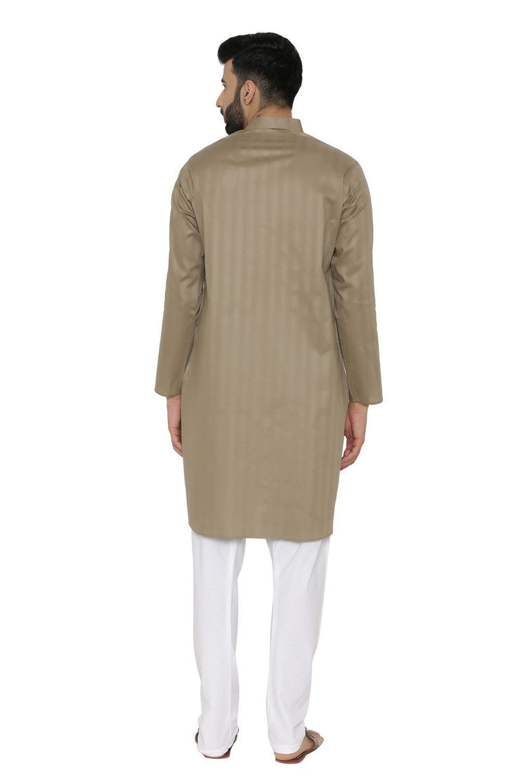 100% Cotton Green Kurta Pyjama