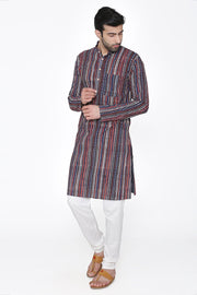 Jaipur 100%  Cotton multicolored Long Kurta