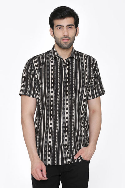 Jaipur 100%  Cotton Black Shirt