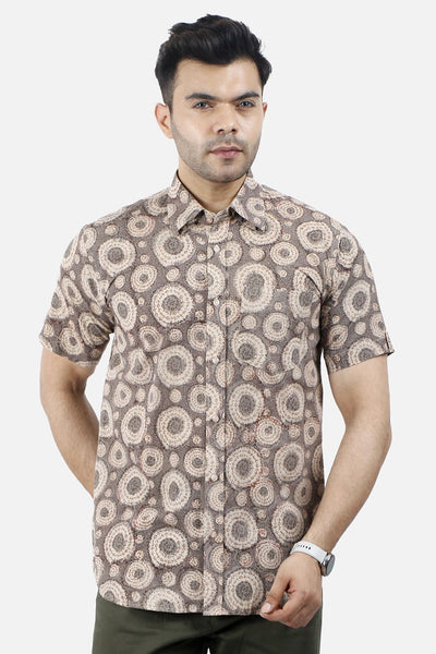 Jaipur 100% Cotton Camel Design Shirt