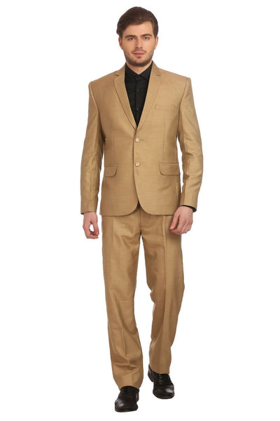 Polyester Blend Gold Suit