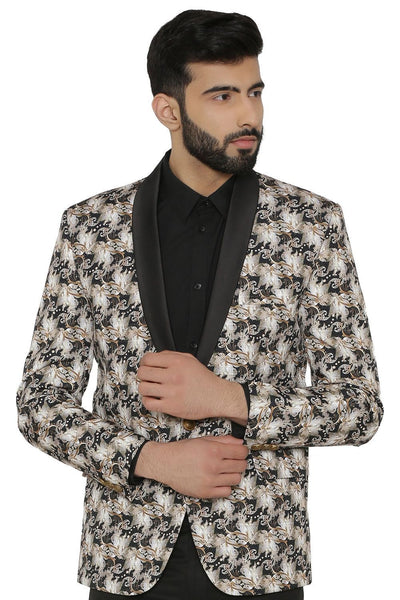 Imported Rayon MulticolouRed Tuxedo
