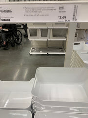 Large Ikea containers on sale.