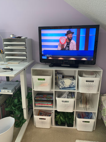 TV stand and more storage