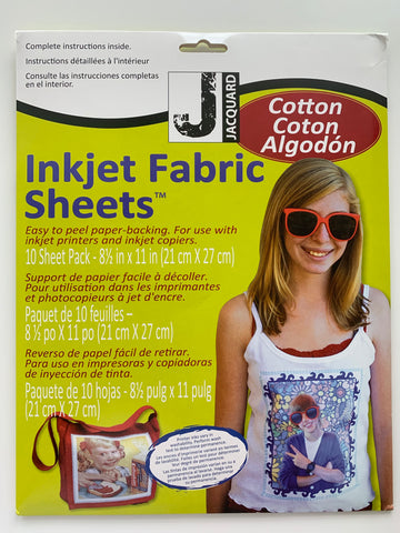 Inkjet Fabric Sheets