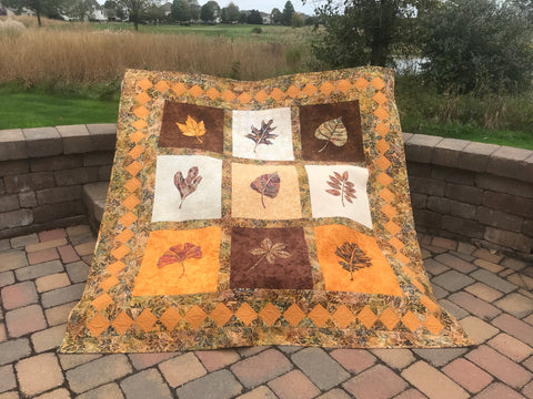 Fall Leaf Quilt Outdoor Picture