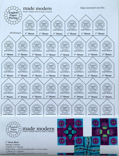 English Paper Piecing Made Modern | Templates for 1