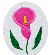 Sew Simple Innovative Appliqué Flower Quilt Pattern | Calla Lily