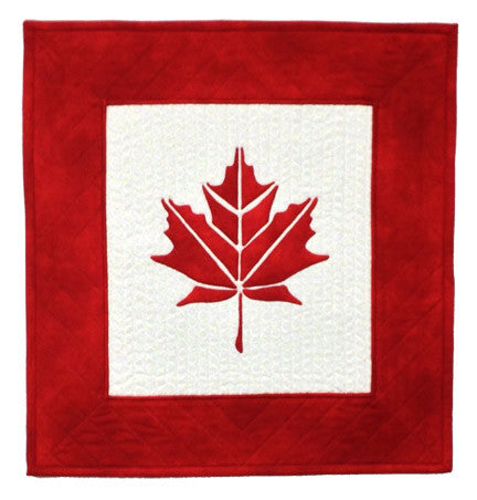 Innovative Appliqué Canadian Leaf