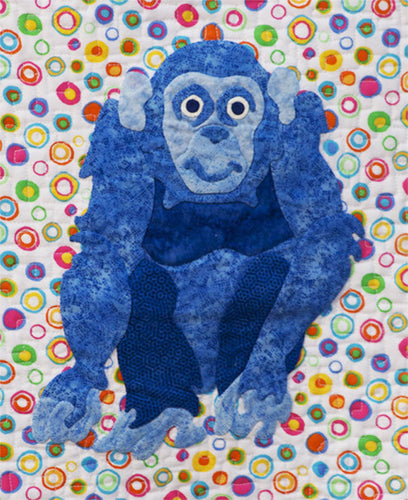 Innovative Appliqué Chimp
