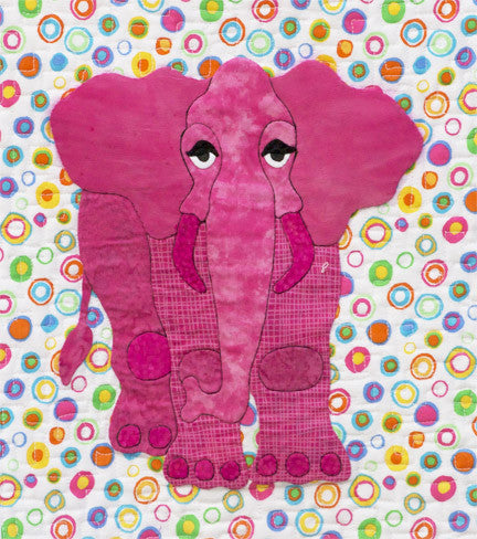 Innovative Appliqué Elephant