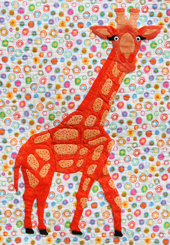 Innovative Appliqué Giraffe