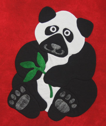 Innovative Appliqué Panda