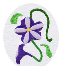 Sew Simple Innovative Appliqué Flower Quilt Pattern | Petunia