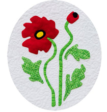 Sew Simple Innovative Appliqué Flower Quilt Pattern | Poppy
