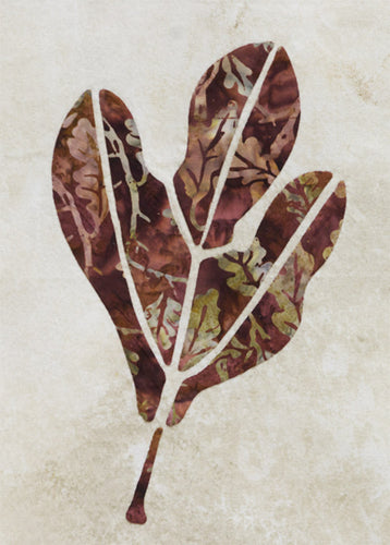 Innovative Appliqué Sassafras Leaf