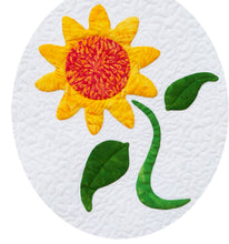 Sew Simple Innovative Appliqué Flower Quilt Pattern | Sunflower