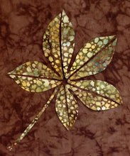 Innovative Appliqué Buckeye Leaf PDF Pattern