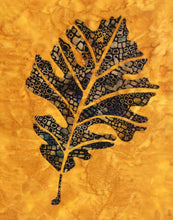 Bur Oak Leaf Quilt Pattern