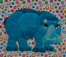 Innovative Appliqué Zoo Series Hippo