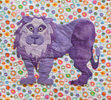 Innovative Appliqué Zoo Series Lion
