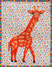 Innovative Appliqué Zoo Series Giraffe