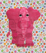 Innovative Appliqué Zoo Series Elephant