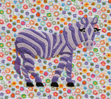 Innovative Appliqué Zoo Series Zebra