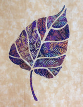 Eastern Cottonwood Leaf Quilt Pattern