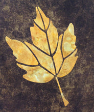 Silver Maple Leaf Quilt Pattern