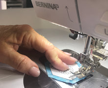 English Paper PIecing Made Modern straight stitch by machine