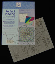 June Tailor's Perfect Piecing creates an appliqué placement guide