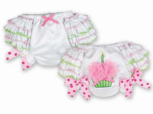 Girl's First Birthday Bloomers