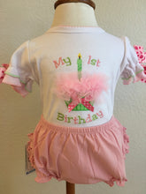 Load image into Gallery viewer, Girl's First Birthday Onesie
