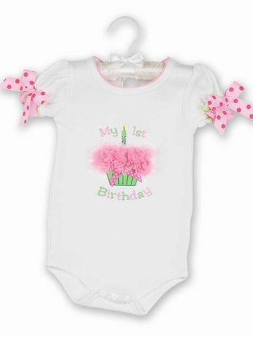 Girl's First Birthday Onesie