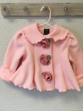 Load image into Gallery viewer, Fleece Rose Coat