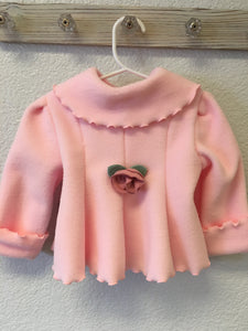 Fleece Rose Coat