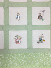 Load image into Gallery viewer, Peter Rabbit Quilt