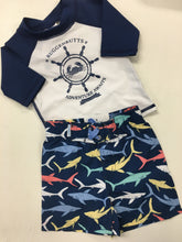 Load image into Gallery viewer, Baby Boy Swim Suit and Rash Guard
