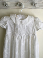Load image into Gallery viewer, Embroidered Christening Gown with Bonnet