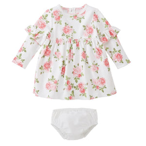 Floral Dress with Bloomers