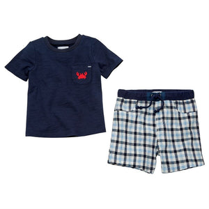 Crab Shorts & Tee Set