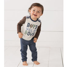 Load image into Gallery viewer, Boys Will Be Boys Top and Pant Set
