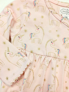 Unicorn Print Pink Convertible Sleeper